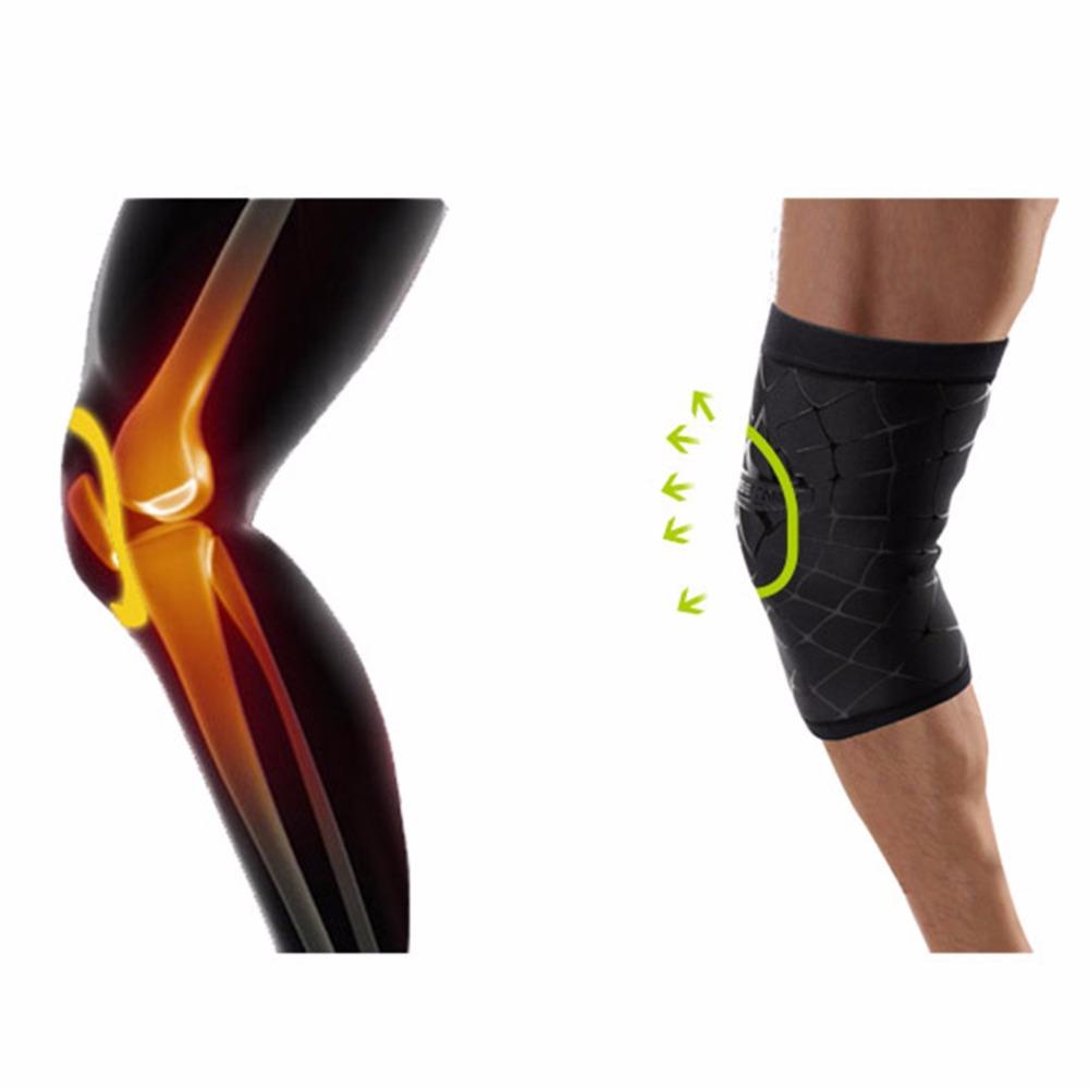 1pc Breathable Elastic Sports Knee Pads bike Knee Pads Football Basketball Leg Sleeve Knee Protector(China (Mainland))