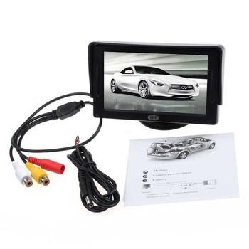 """Автомобиль 4.3 """" TFT LCD монитор заднего вида для DVD GPS обратный резервная камера"""