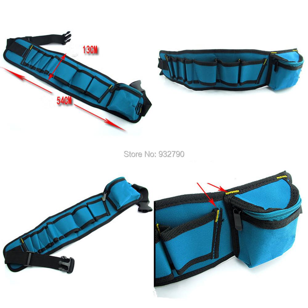 Waist Tool Bag Pouch Holder Pack Belt Mechanic Electrician Construction__.jpg