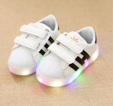 New 2017 Famous brand European fashion lighted baby boots Cute Lip girls boys high quality baby shoes Cool Funny kids sneakers(China (Mainland))