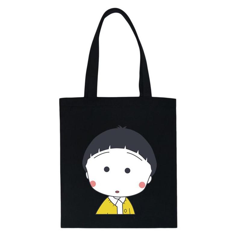 High Quality Women Canvas Casual Zipper Tote Large Solid Crossbody Bag Lady Girl Cartoon Handbags Bolsas Shopping Bag GO501<br><br>Aliexpress