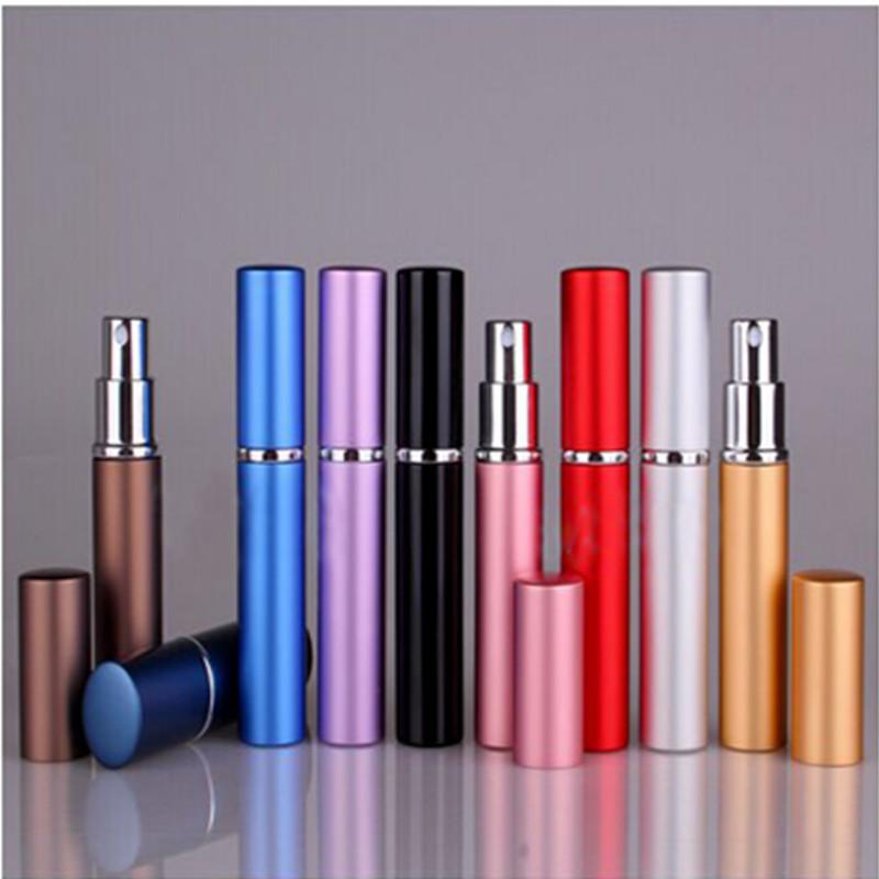 1Pcs Mini Spray Bottle Empty Perfume Bottles Colorful Portable 6ml Refillable Perfume Atomizer(China (Mainland))