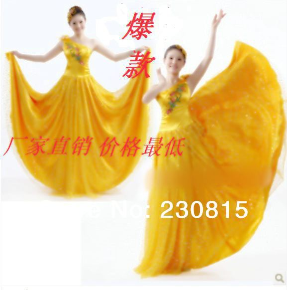 2014 New Fashion Women Dress Ensemble Dance Costume Stage Clothing Performance Clothing. - BenBen Li's store