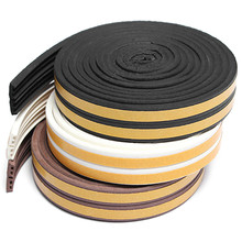 Buy 5M D/E/P Type Foam Draught Excluder Self Adhesive Window Door Seal Strip Door Accessories EPDM Silicone PVC Hot Sale for $1.67 in AliExpress store
