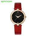 Women s Fashion Casual Luxury Watch High Quality Leather Women s Quartz Watch Waterproof Watch Bracelet