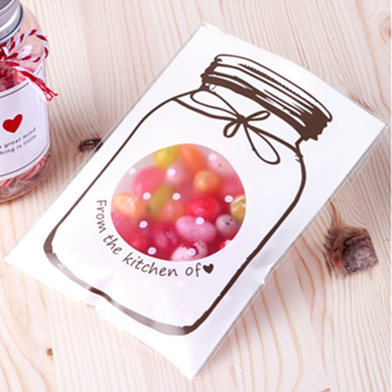 10 Pcs/lot 3 Color Candy Bags Choice Bottle Style Cello Cellophane Wedding Party Favour Sweet Jelly Gift Craft Bags(China (Mainland))