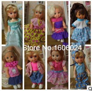 2015 Hot Sale Original Accessories Set Wholesale Lot Various German Simba Kelly Mini Doll Clothes American Girl Doll(China (Mainland))
