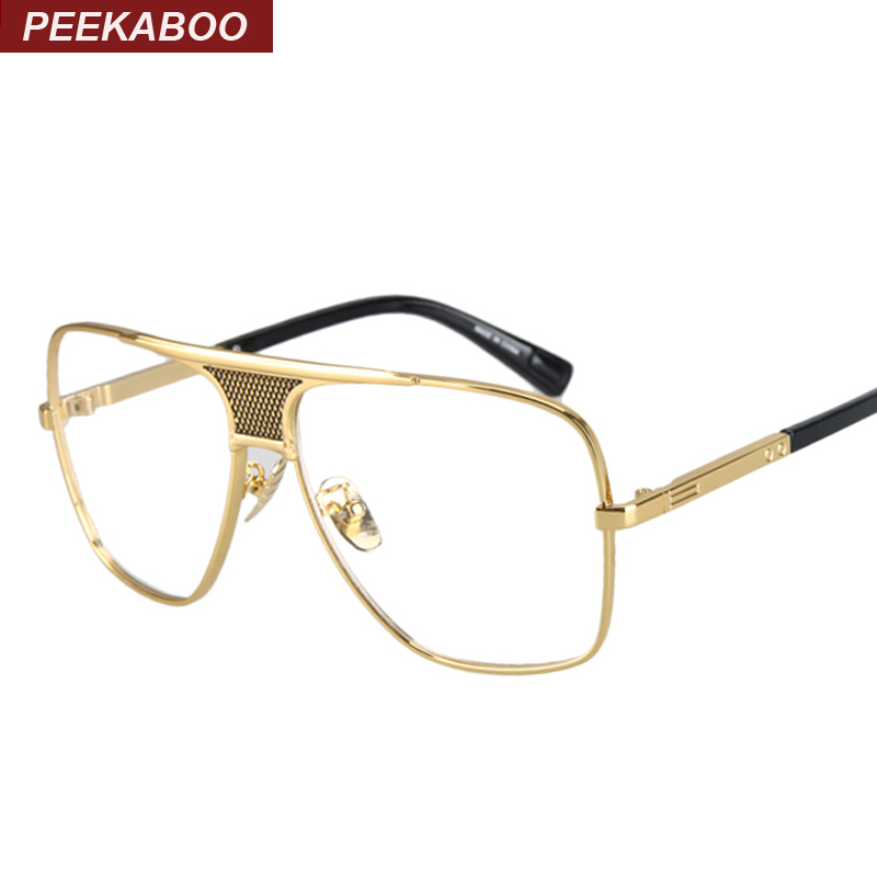 acetate vintage square glasses frames big frame ...