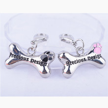 New Design Dog Accessories Personalized Pendent Collar Charm DIY Pet Tag Jewelry Products For Animals