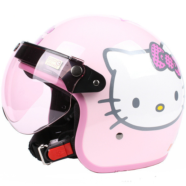 Hello Kitty Motorcycle Helmet For Adults Helmets,pink Hello Kitty
