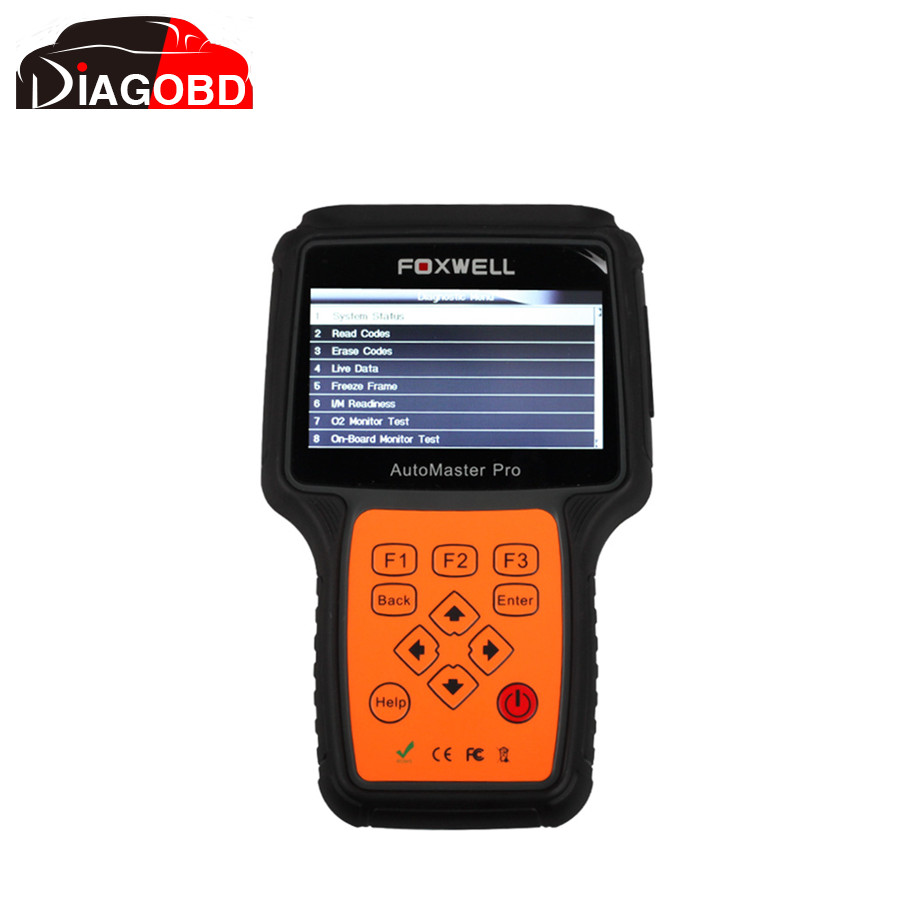 Foxwell NT644 AutoMaster Pro All Makes Full Systems+ EPB+ Oil Service Scanner NT644(Hong Kong)