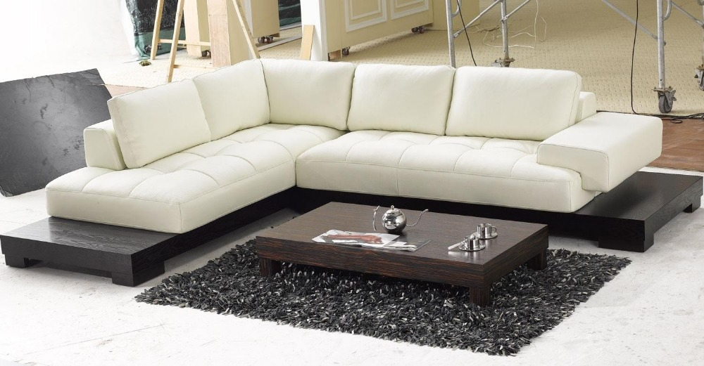 European modern genuine leather sectional sofa home for European leather sofa