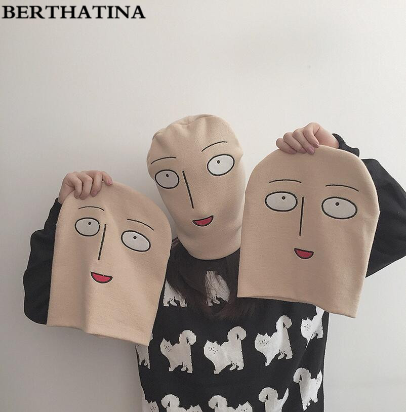 BERTHATINA Full Face Cover Outside Mask Face Shape Balaclava Knit Hat Winter Stretch Snow mask Beanie Hat Cap 2016 Fashion(China (Mainland))