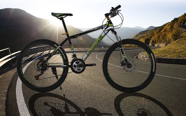 bicycle 26 inch fold mountain bike variable suspension type ten-speed bicycle for men and women(China (Mainland))