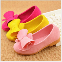 2016 New Candy Color Children Shoes High Quality Girls Shoes Princess Fashion Kids Designer Single Shoes Spring New kid's shoes(China (Mainland))
