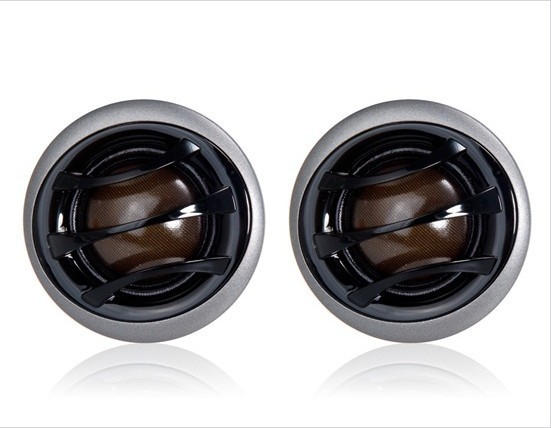 Free shipping 25mm Transparent Silk Car Speaker Dome Tweeter ,music, sound, Listen to enjoy while driving(China (Mainland))