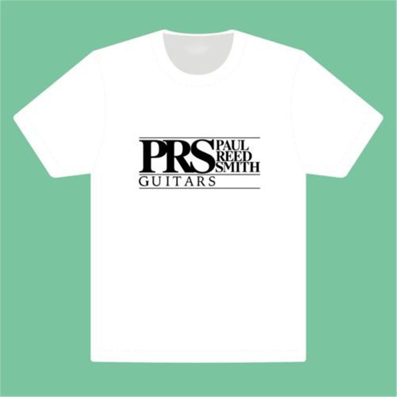 Summer Harajuku T-Shirt Paul Reed Smith PRS guitar bass T shirt Letter Printed Short Sleeve O-Neck Casual Women Men Tee Tshirt(China (Mainland))