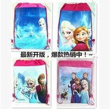 Wholesale +Free shipping!!Soft Lovely Frozen Shoulder Bag 34*27cm Many Style Mix order (10pcs/lot)(China (Mainland))
