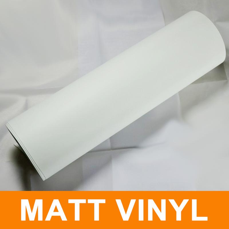matt white stretch film car wrapping vinyl vehicle wrap pvc film 1.52meter x30 meter(China (Mainland))