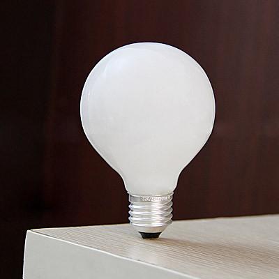Incandescent Bulbs G95 G80 E27 220V Milk White Dragon Ball Bulb Light Bulbs(China (Mainland))