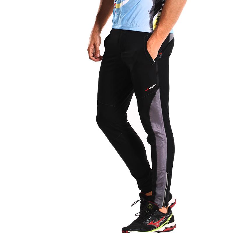 Mens Mountain Bike Santic Cycling Bicycle Long Pants Mens Cycling Trousers Luminous in Night Safety Men Casual Pants Bike 02970<br><br>Aliexpress