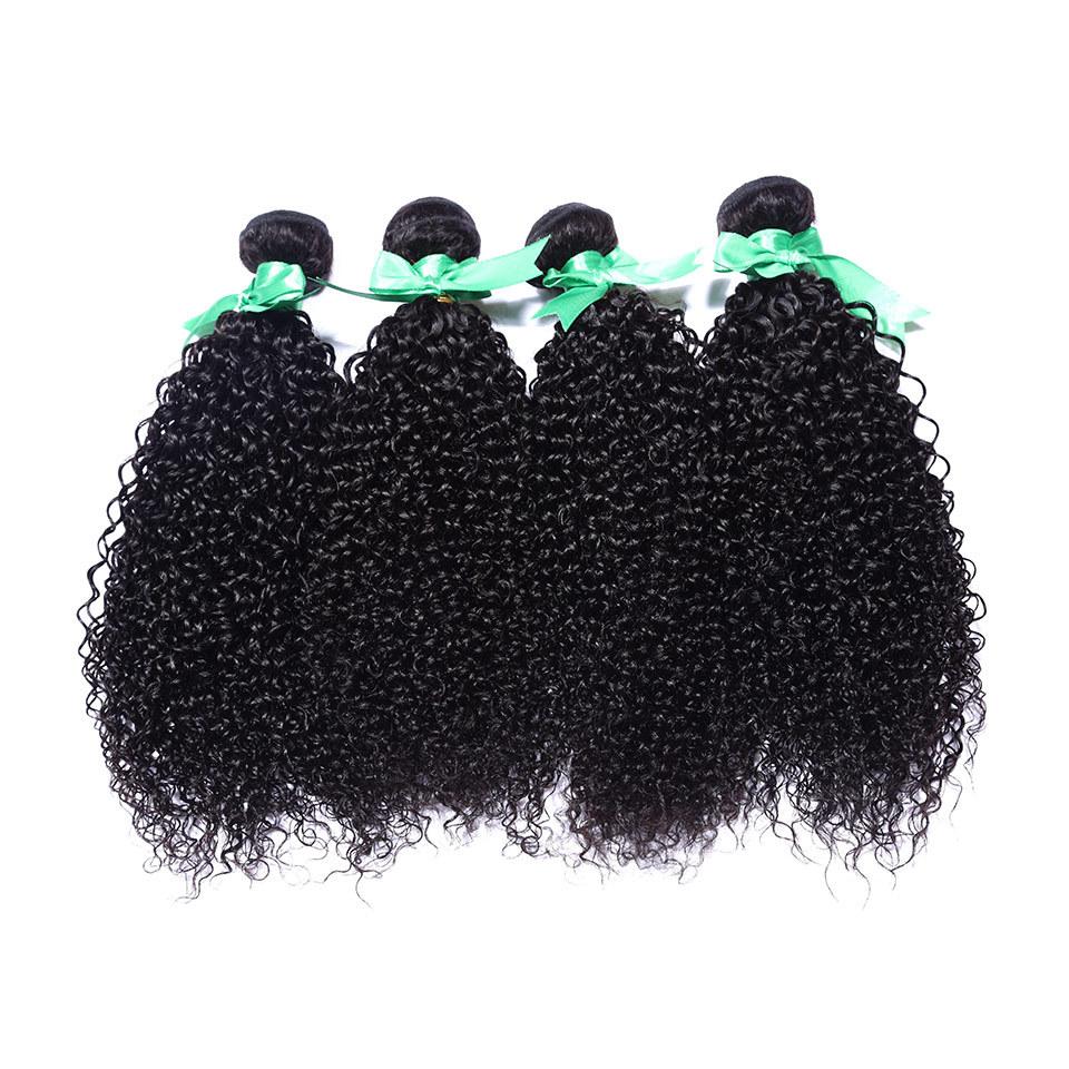 indian virgin hair afro kinky curly virgin hair bundles 4pcs/lot 100% human hair extension natural black hair weave full ends <br><br>Aliexpress