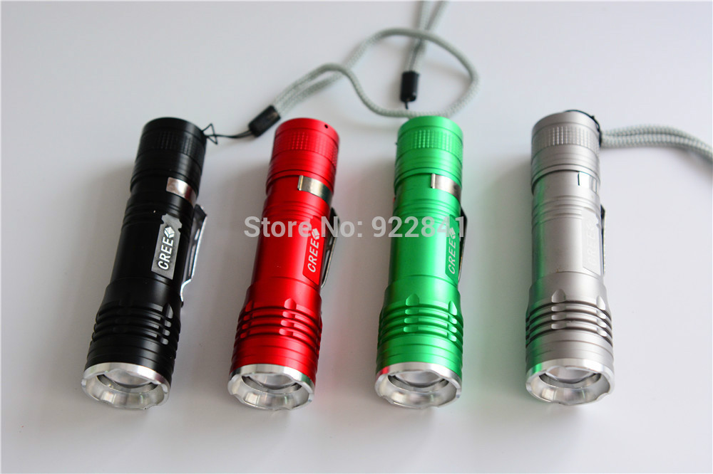 Free Shipping Ultrafire X4 Mini Led Flashlight Torches LED Bulbs 800 Lumens Led Hand Light For Climb,Fishing,Camp(China (Mainland))