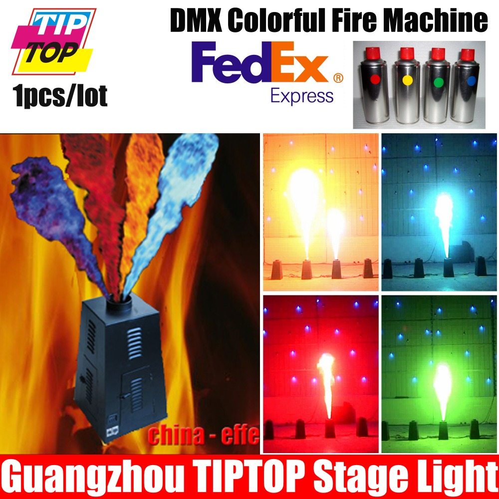 New Designed LPG Flame Projector DMX Fireworks Colorful Spray Fire Machine DMX 512 Shoot Up 3Meter DMX Fire Machine<br><br>Aliexpress