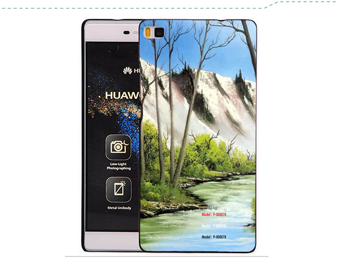100 Genuine PVC Phone Case Wallet Stand Cover Credit Card Case Pouch For Huawei P8 Lite(China (Mainland))