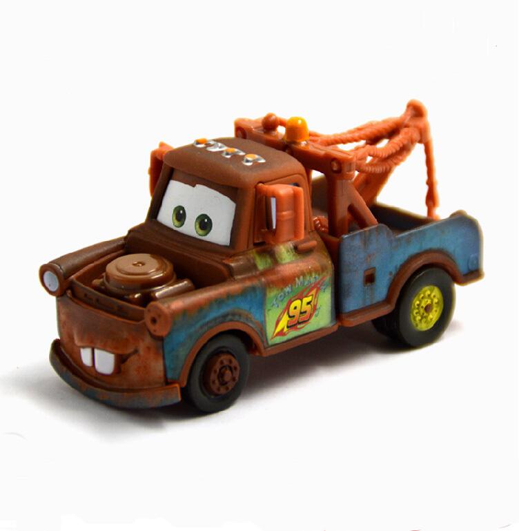 100% Original Free Shipping Pixar cars 2 Diecast metal cars Toys 1:55 scale Mater Trailer Tow Mater #51 Loose Xmas Giftcrew(China (Mainland))