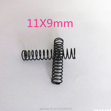Free shipping! Reprap 3D printer  spring  11mm OD 9mm ID height 55mm (without stretching state)  10pcs/pack