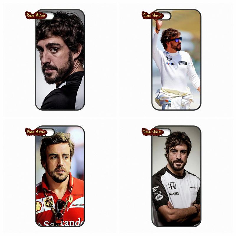 Hot Low F1 driver Fernando Alonso Cover Case For LG Google Nexus4 Nexus5 L70 L90 Huawei Ascend P6 P7 P8 Lite Honor 3C 6 Mate 8(China (Mainland))