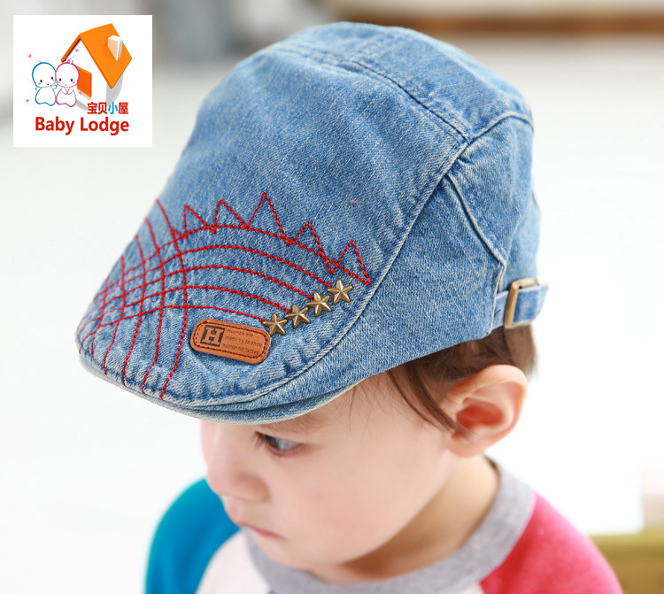 1PCS Best Quality Kids Baby Girl Boy BeBe Beanies Hat Toddler Casquette Baseball Beret Cap 4Colors 3-24 Month Free Shipping(China (Mainland))