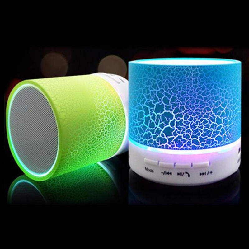 Mini LED Portable Wireless Bluetooth Stereo Music Speaker Subwoofer FM TF USB
