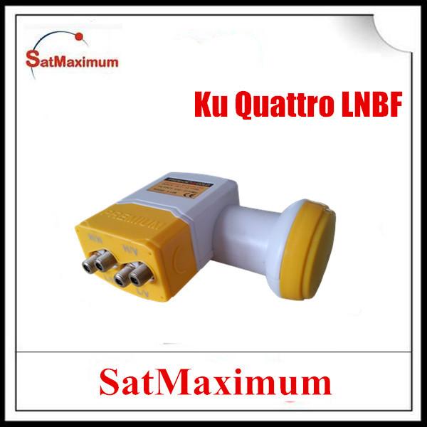 Digital Full HD 0.1dB Low noise Ku band quattro LNBF used with mulitswitch(China (Mainland))