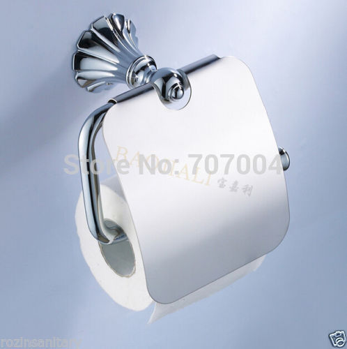Free shipping wholesale and retail luxury creative toilet Creative toilet paper holder