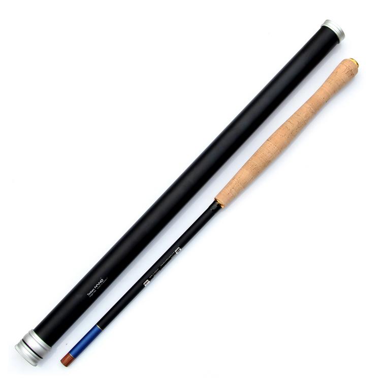 High Quality Nano Japanese Carbon Fiber Fly Fishing Rod 12FT 7:3 Action 9Segments Tenkara Fly Rod(China (Mainland))