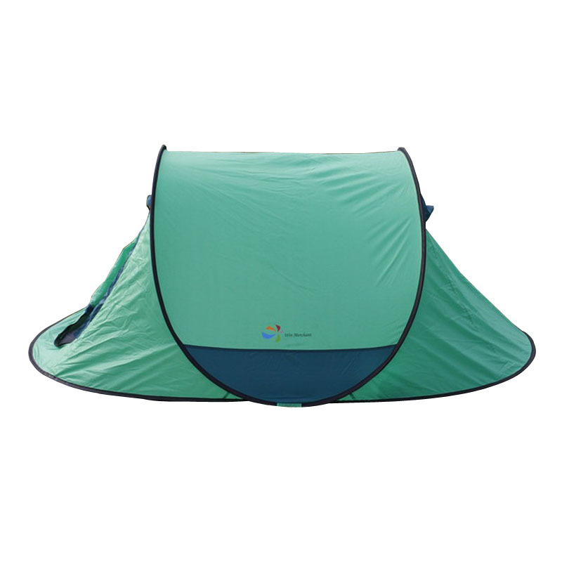 Free building trade automatic quick opening outdoor camping tent / polishing Post / Beach Post / Sailing posted one second speed<br><br>Aliexpress