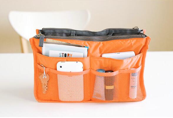 13 Colors Make up organizer bag Women Men Casual travel bag multi functional Cosmetic Bags storage