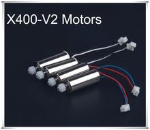 MJX X400-V2 Headless 2.4G RC drone/ RC quadcopter spare parts Main motor A+main Motor B 4pcs /lot free shipping