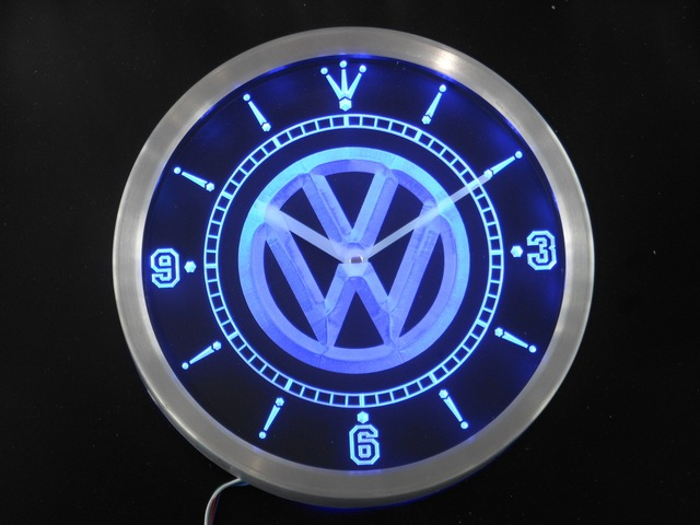 horloge murale vw. Black Bedroom Furniture Sets. Home Design Ideas