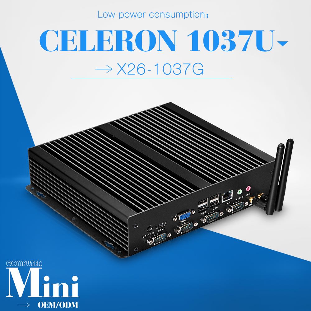 2016 newest CPU celeron C1037U 8g ram DDR3 64g ssd quality assurance 4com 8*usb 1*RJ-45 HDMI VGA laptop computer thin client(China (Mainland))