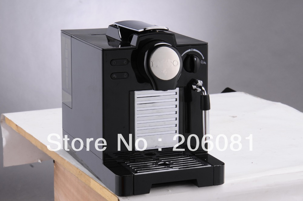Hot sell Nespresso capsule coffee machine espresso capsule coffee maker automatic cappuccino maker with steaming function(China (Mainland))