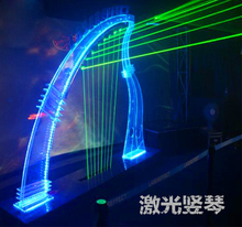 Game props Tools Reality Room Escape props laser harp with music sound unlock game(China (Mainland))