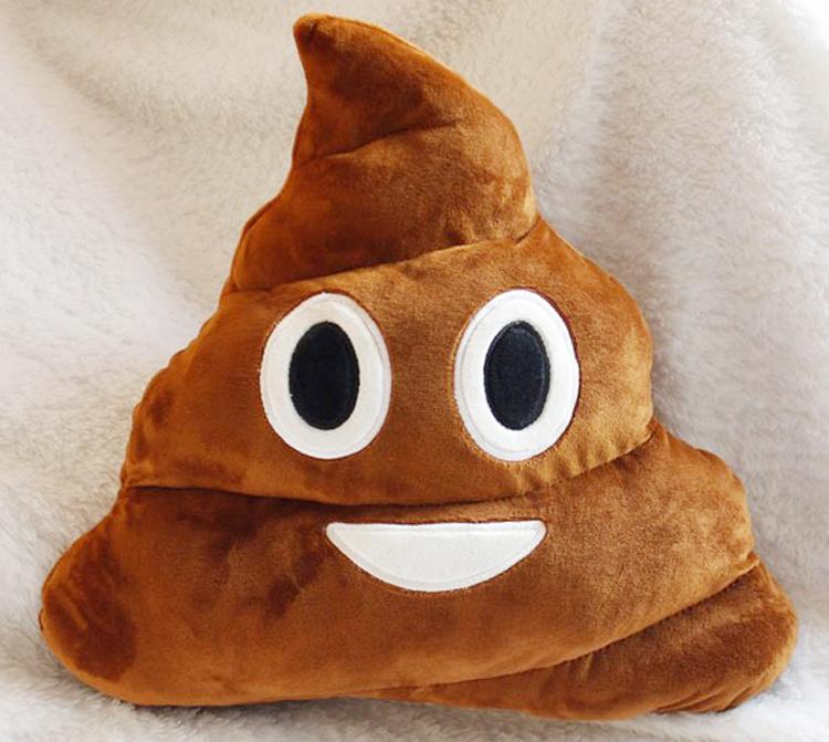 2015 Hot Cute Emoji Pillows Poop Soft Smiley Emotion Ikea Sofa Cushion Stuffed Plush Toy Doll Gift For Girl Free Shipping(China (Mainland))