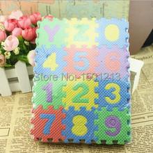 New Doulble-Site Letters Mat Happy Child Climb Mat Bubble makeup Puzzle Mats Games 17.8*13.5*1.7cm(China (Mainland))