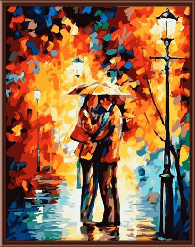 Framless oil painting by numbers hand painted canvas painting movie poster 40*50cm G189(China (Mainland))