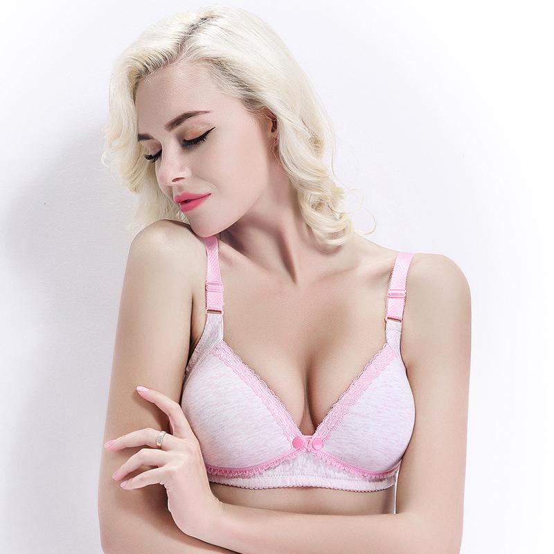 cute pink maternity nursing bras front closure nursing