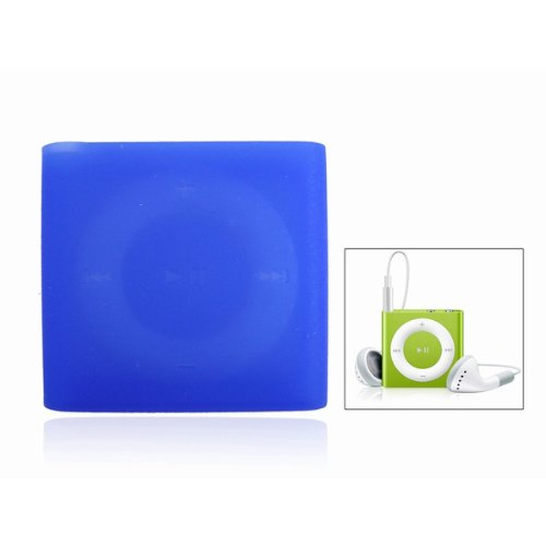 7 x Silicone Skin Case Cover for iPod Shuffle 4 4G 4th Gen Random Color(China (Mainland))