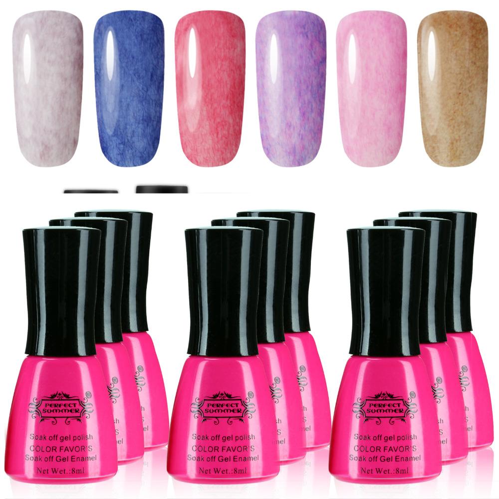 Perfect Summer New 50 color Fur Nail gel polish Long-lasting Soak LED /uv Velvet decorations - Store store